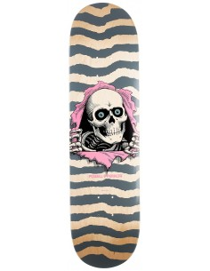"""POWELL PERALTA Deck PS Ripper Natural Turquoise 8.0"""" - Skateboard Deck"""