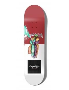 "Chocolate One Off WR41D2 ALVAREZ Sapo 8.0"" - Skateboard Deck"
