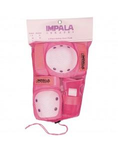 Pack de protections Impala Rose - Junior
