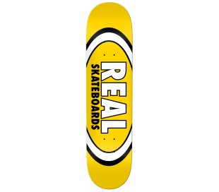 """Real Team Classic Oval Red 8.125"""" - Skateboard Deck"""