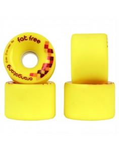 Orangatang Fat Free wheels 65 mm - 86a