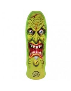 """Santa Cruz Roskopp Target 4 Green Fluo 10.25"""" - Plateau de skateboard Oldschool"""