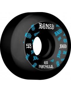 Roues Bones 100's 53mm V5 Black