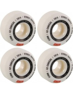 Roues Globe G2 Conical White 53mm 101a