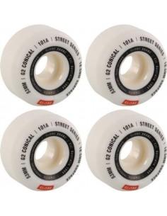Wheels Globe G2 Conical White 53mm 101a