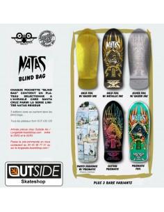 "Santa Cruz Reissue Blacklight Roskopp Face 9.5"" - Oldschool Skateboard Deck"