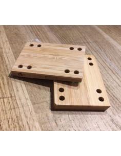 "Riser Pads 1/8"" - Khiro"