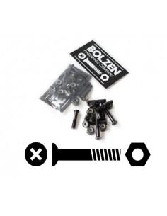"""Visserie 1"""" - 25 mm - Tête plate - Bolzen"""