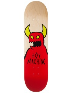 """Toy Machine Monster Fists Natural 8.38"""" Skateboard Deck"""