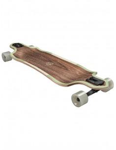 """Longboard Globe Geminon Micro Drop 37.5"""" Walnut Cacti"""