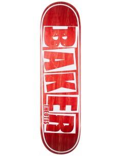 """Baker Logo White 8.5"""" - Skateboard Deck"""