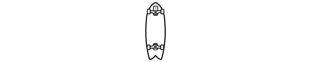 Carver et Surf Skates
