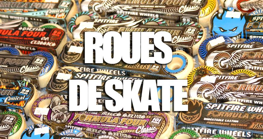 Guide d'achat : Roues de skateboard