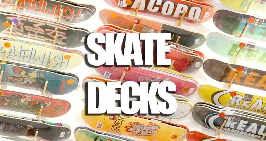 Guide d'achat : Plateaux de skateboard